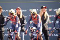 Vincenzo Nibali au départ de Tirreno-Adriatico