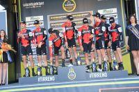 L'équipe BMC Racing Team lauréate du contre-la-montre par équipes