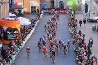 Décor typique de Tirreno-Adriatico