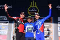 Le podium de Tirreno