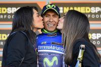 Nairo Quintana prend possession du maillot bleu