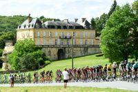 Le peloton du Tour de France en Dordogne