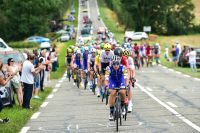 Quick-Step Floors emmène le peloton du Tour de France