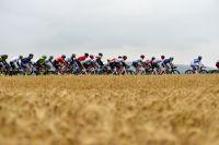 Le peloton du Tour de France en Allemagne