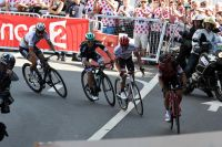 Richie Porte accélère, Alberto Contador et Peter Sagan vigilants