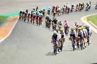 Le Tour de France sur le circuit de Spa-Francorchamps