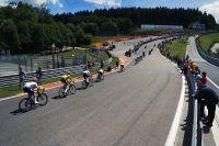 Le Tour de France sur le circuit de Spa-Francorchamps