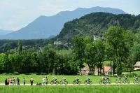 Le peloton du Tour de France en Savoie