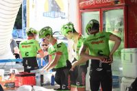L'équipe Cannondale-Drapac au Tour Down Under
