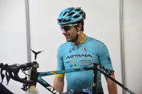 Oscar Gatto, nouveau venu dans l'équipe Astana