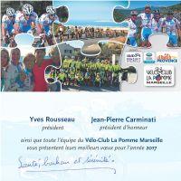 Les vœux du VC La Pomme Marseille