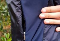 Veste Rapha zip côté droit