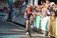 Vincenzo Nibali, 2ème du Tour d'Emilie