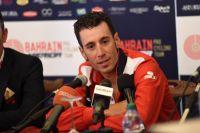 Vincenzo Nibali au départ du Giro