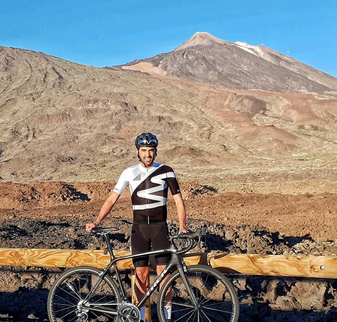 Alberto Contador est à El Teide