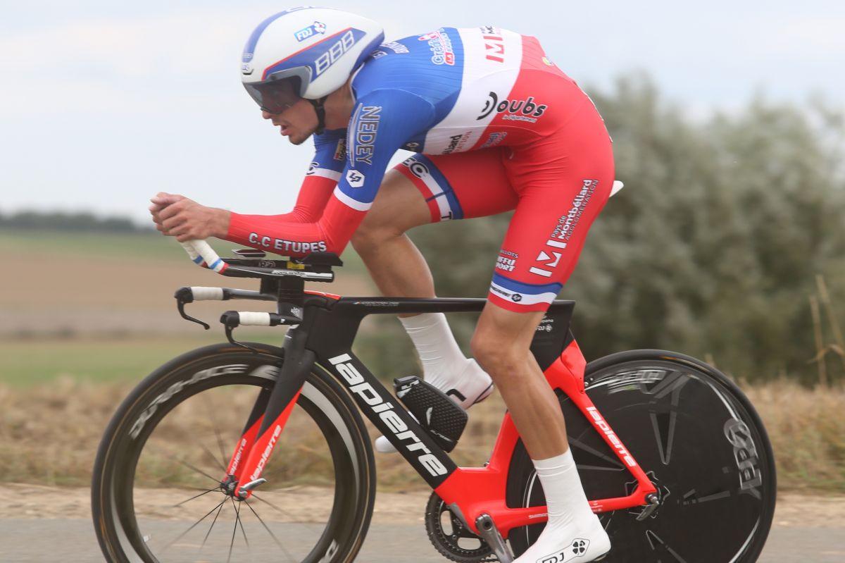 Alexys Brunet, 2ème étape de la Boucle de l'Artois
