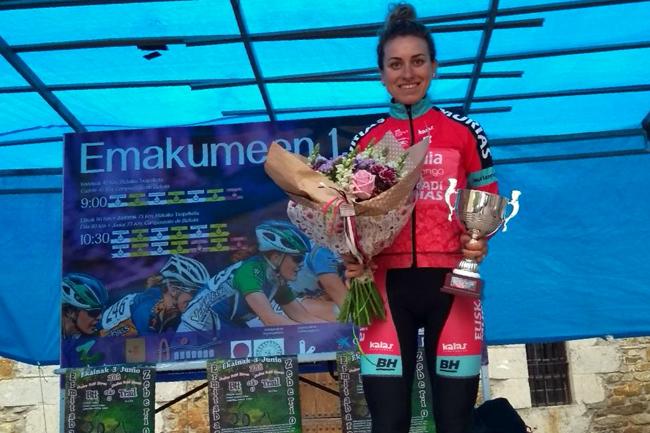 Alice-Maria Arzuffi gagne à Zeberio en 2018
