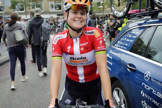 Amalie Dideriksen en août 2018