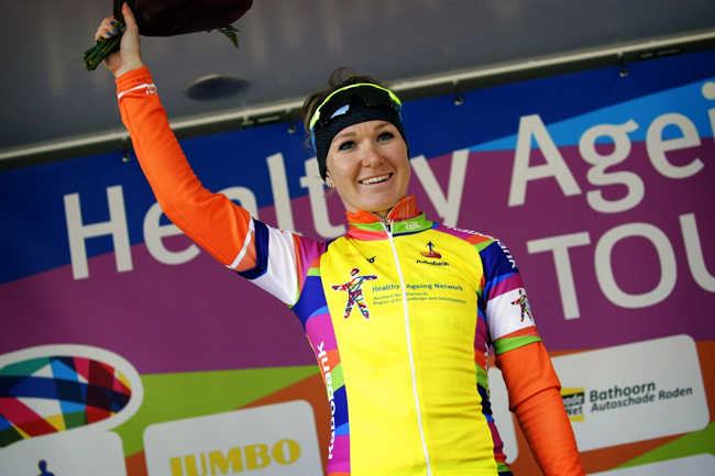Amy Pieters gagne le Healthy Ageing Tour 2018