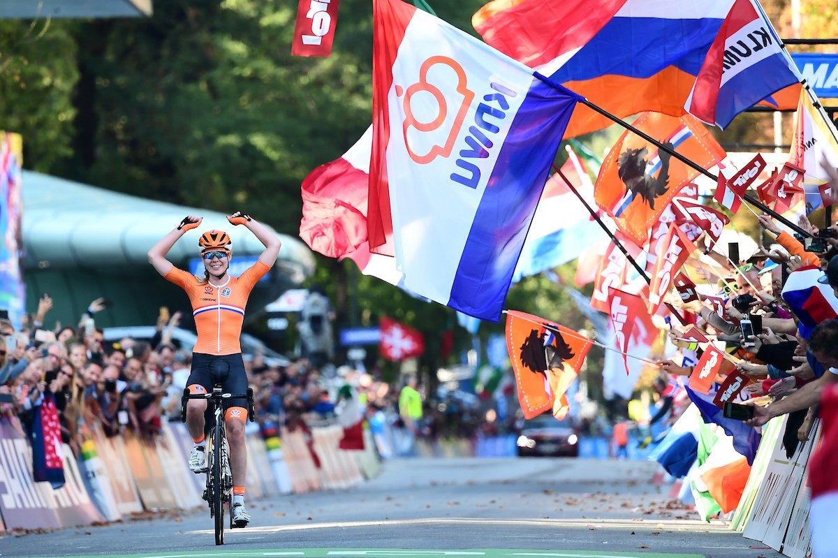 Mondiaux de cyclisme: Anna van der Breggen championne du monde
