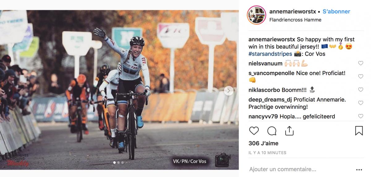 Annemarie Worst s'offre le Flandriencross