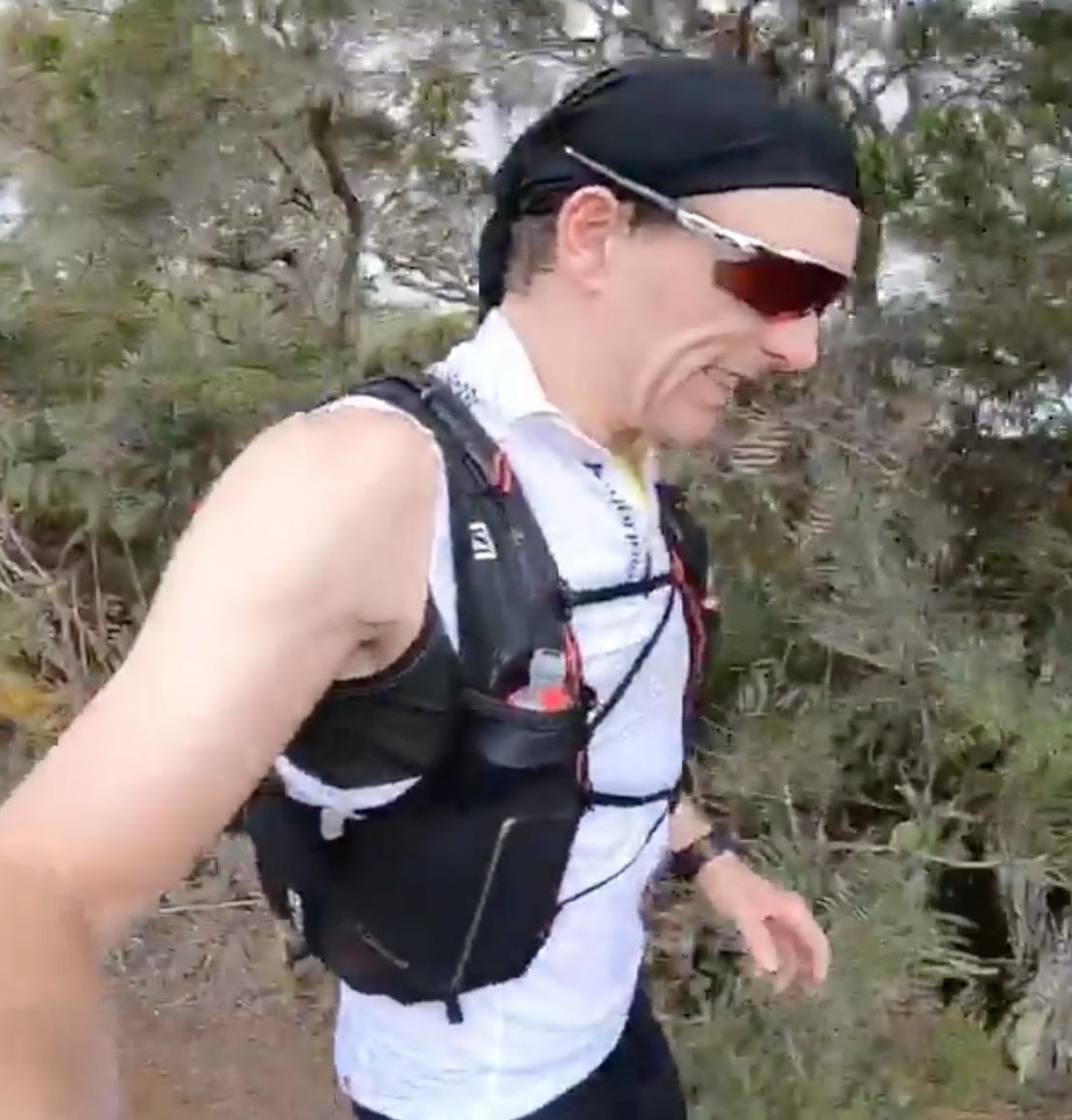 Arnaud Démare en mode trail