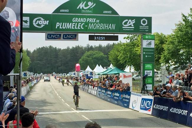 Ashleigh Moolman gagne la Classique Morbihan 2018