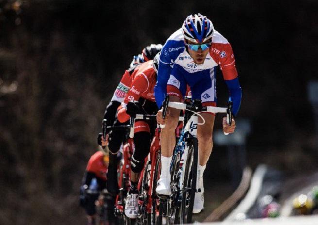 L'étape pour Sanchez, Pinot résiste à Froome — Tour des Alpes