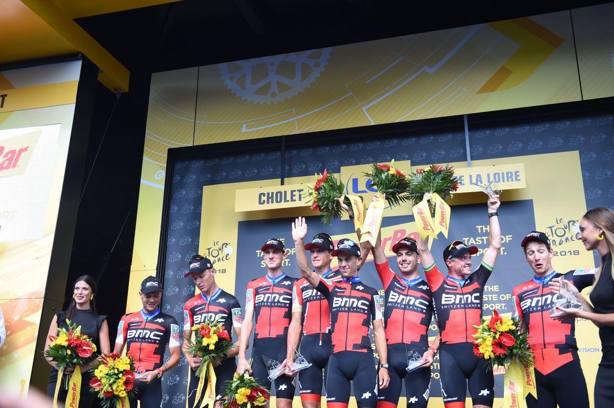 BMC vainqueur CLM par équipe Tour de France