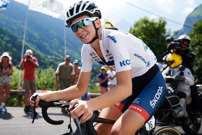 Cecilie Ludwig sur La Course By Le Tour 2018
