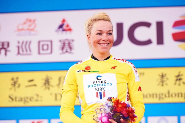 Charlotte Becker gagne le Tour de Chongming Island 2018