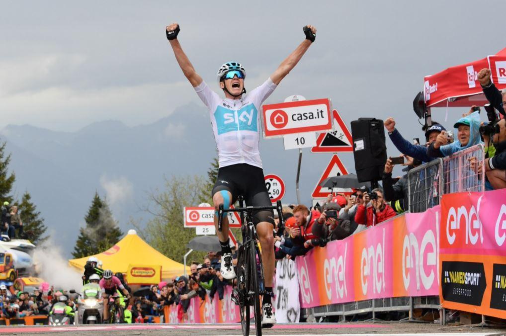 Chris Froome Giro Monte Zoncolan