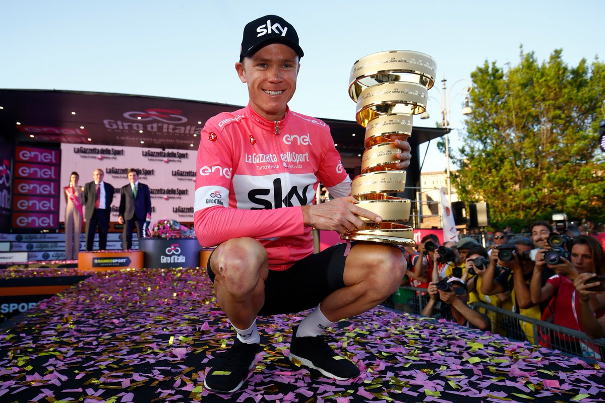 chris froome vainqueur Giro