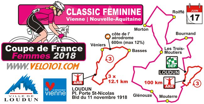 Classic Féminine Vienne - Nouvelle-Aquitaine 2018