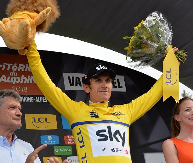 Le triomphe de Geraint Thomas — Critérium du Dauphiné