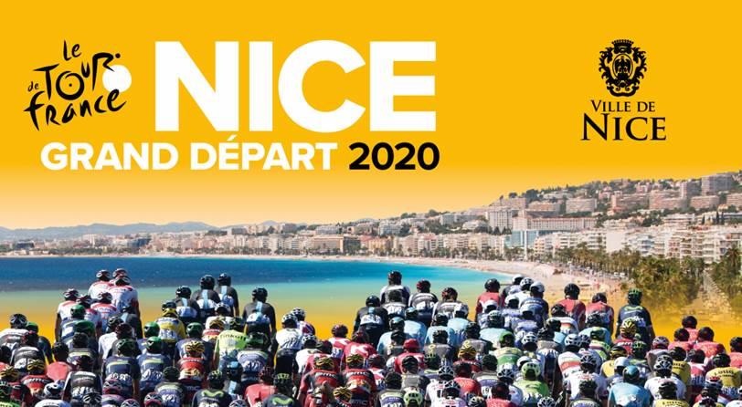 Départ Tour de France à Nice en 2020