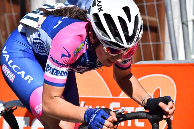 Elisa Balsamo lors de la Flèche Wallonne 2018