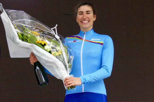 Elisa Balsamo (Valcar-PBM) meilleure U23 du WWT 2018