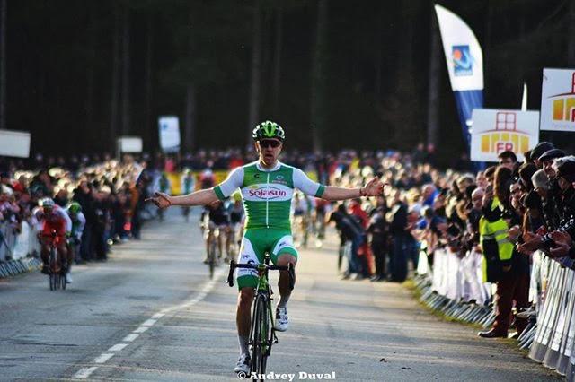 Emmanuel Morin, vainqueur sur