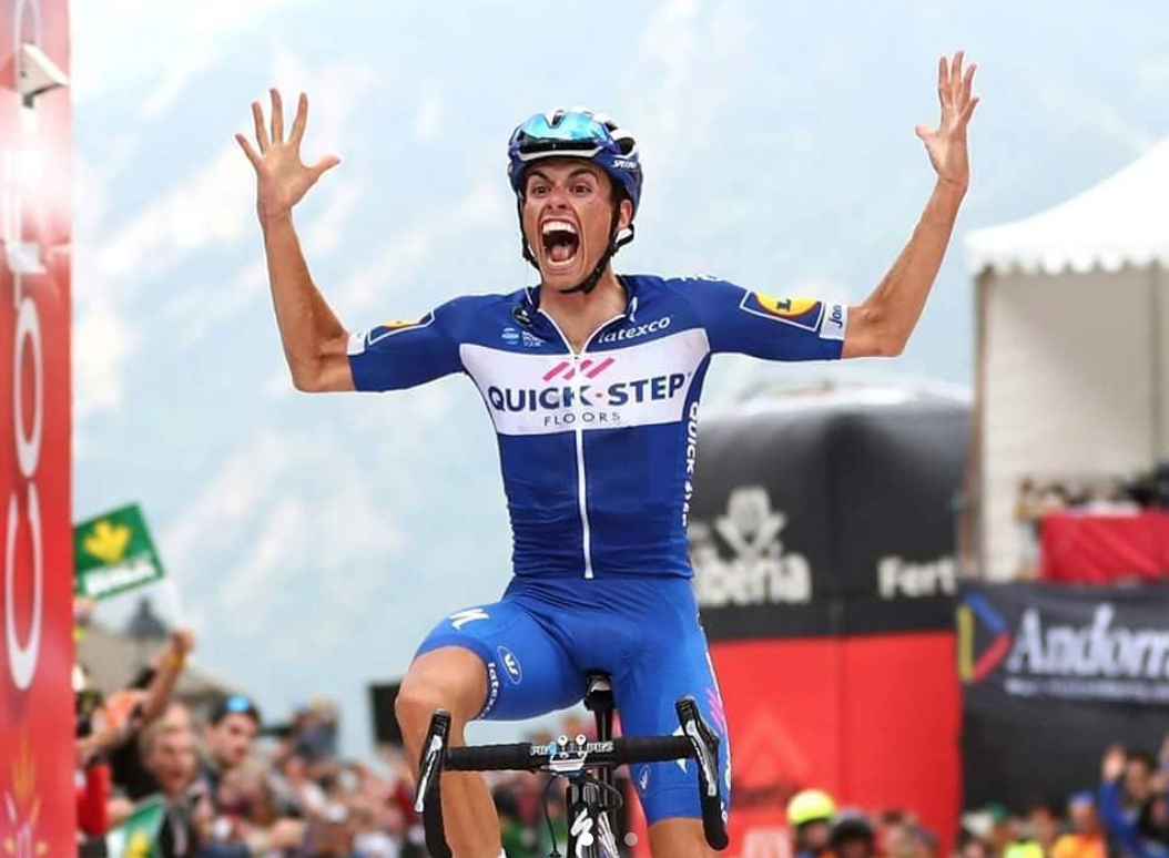 Enric Mas vainqueur sur la Vuelta