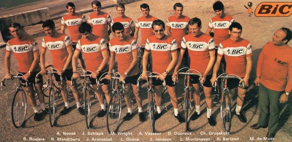 équipe bic 1970