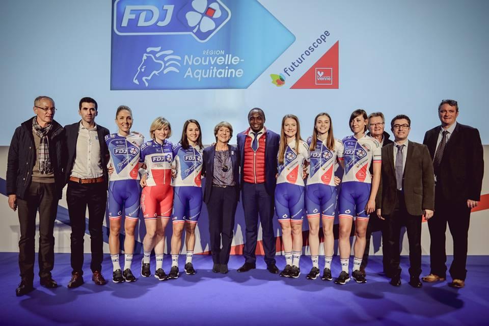 équipe FDJ-Nouvelle Aquitaine-Futuroscope