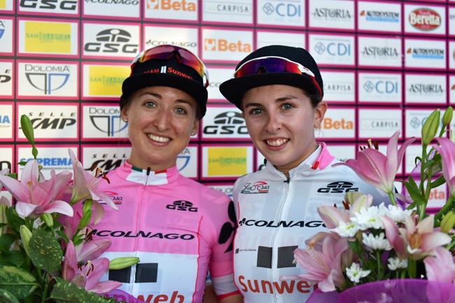 Giro Rosa 2018 : Kirchmann et Labous à Corbetta