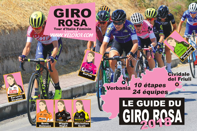 Giro Rosa 2018 Guide cover