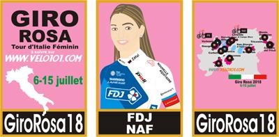 Giro Rosa 2018 roster FDJ