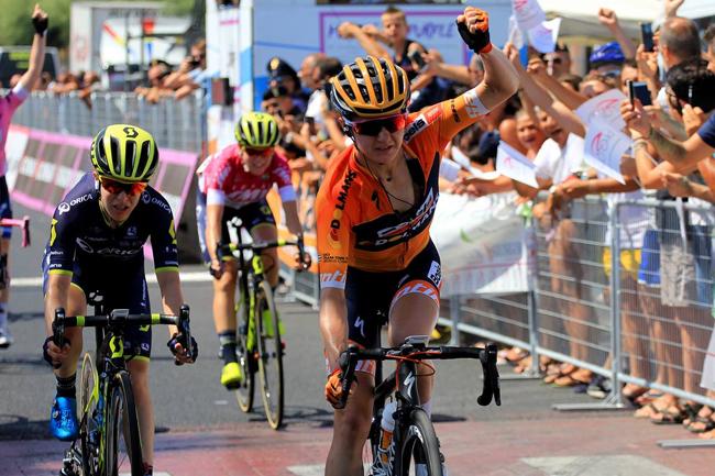 Guarnier gagne la dernière étape du Giro Rosa 2017
