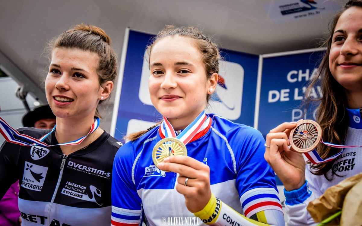 Jade Wiel championne de France CLM
