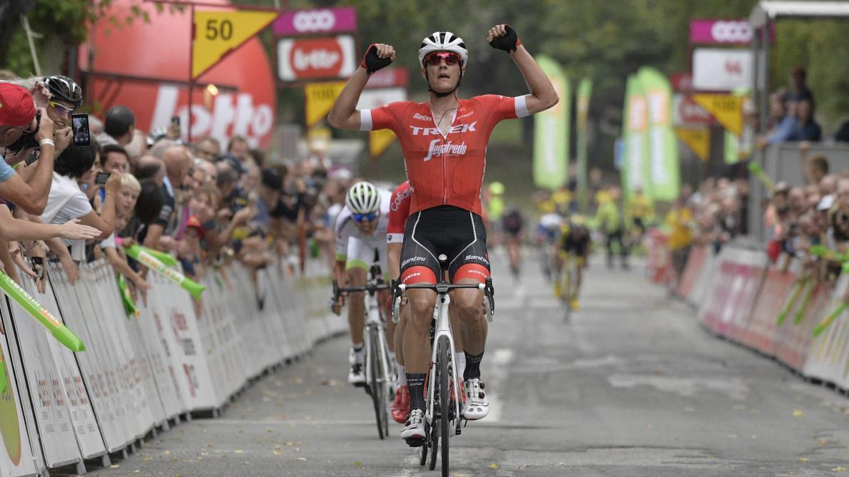 Jasper Stuyven vainqueur du GP de Wallonie