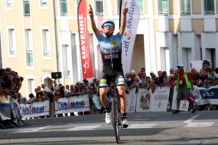 Jérémy Bescond a remporté la 26e édition de la Ronde Mayennaise dimanche