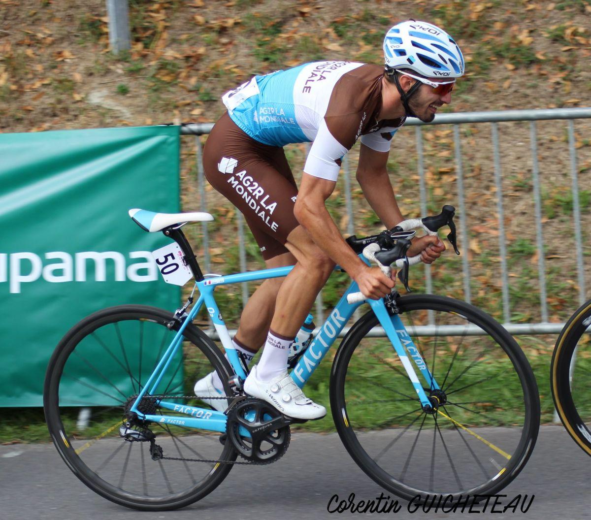 Jérémy Montauban en action